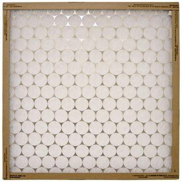 """10 X 36 X 1"""" Disposable Panel Air Filter, Continuous Filament Spun Glass Media"""