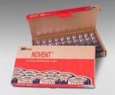"1/4"" NPT Universal Refrigerant Locking Cap - Novent, Silver"