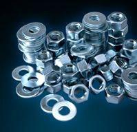"1/2"" Hexagon Nut, Zinc Plated Steel"