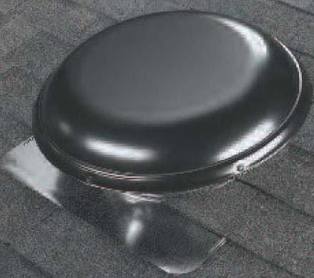 Round Roof Vent, Galvanized Steel
