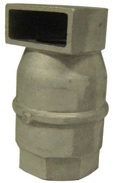 "30"" Threaded Air Vent and Vacuum Relief Valve, Aluminum"