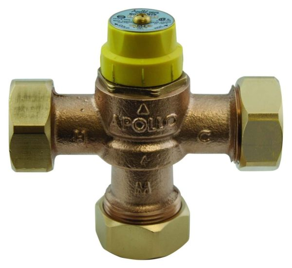 Threaded Mixing Valve, Bronze