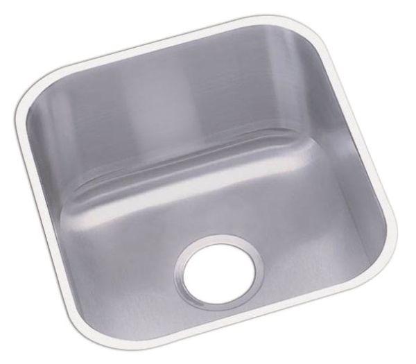 "18 Gauge Stainless Steel 16-1/2"" X 18-1/4"" X 8"" Radiant Satin Single Bowl Undermount Bar/Prep Sink"