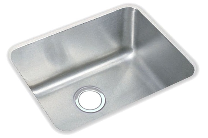"18 Gauge Stainless Steel 20-1/2"" X 16-1/2"" X 7-7/8"" Lustertone Single Bowl Undermount Kitchen Sink"
