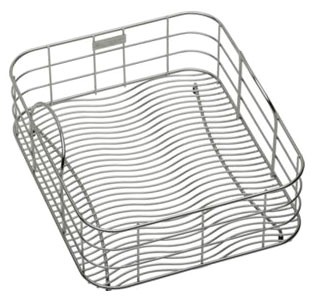 "12-1/2"" x 15"" x 7"" Stainless Steel Sink Rinsing Basket"