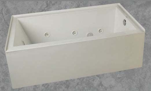"32"" x 60"" x 20-1/2"" Skirted Bathtub - emerald, Biscuit"