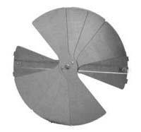 "14"" Mill Finished Steel Radial Blade Damper"