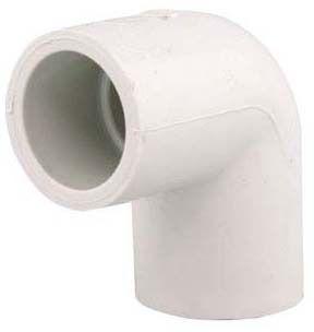 "1"" PVC 90D Straight Elbow - XIRTEC 140, SCH 40, Socket"