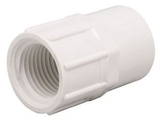 "3/4"" PVC Female Straight Adapter - XIRTEC 140, SCH 40, Socket x FPT"