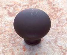 Oil Rubbed Bronze Zamac Cabinet Mushroom Knob - Vintage, Traditional Style