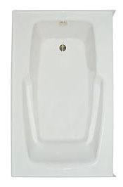 "60"" x 35-3/4"" x 21-3/4"" Alcove Bathtub - PRO-FIT, White"