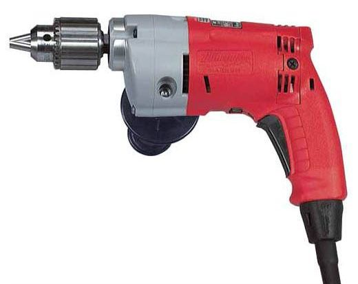 "1/2"" Keyed Chuck Corded Side Handle Power Drill"