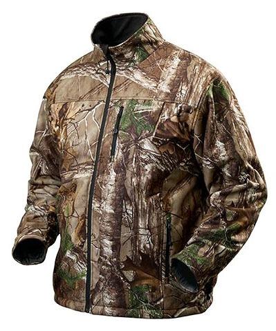 X-Large Camo Heated Jacket Kit - M12 / REDLITHIUM Rechargeable, Cordless, Polyester, 12 V