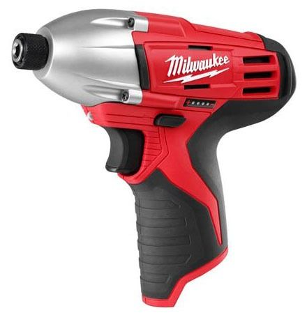 """1/4"""" Drive Variable Speed Cordless Impact Driver Bare Tool - M12, Lithium-Ion, 12 V"""
