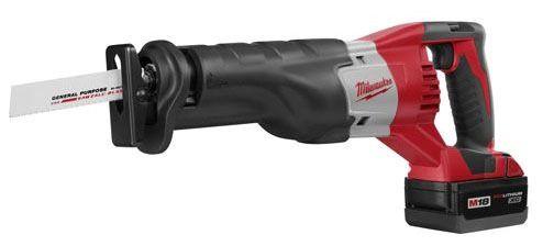 "1"" Stroke Length Cordless Reciprocating Saw Kit - M18 / SAWZALL, 18 V"