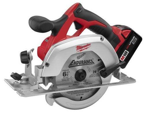 "6-1/2"" Cordless Circular Saw - M18, 3500 RPM, 18 V"