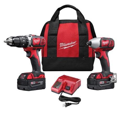 2-Tool Cordless Combination Power Tool Kit - M18
