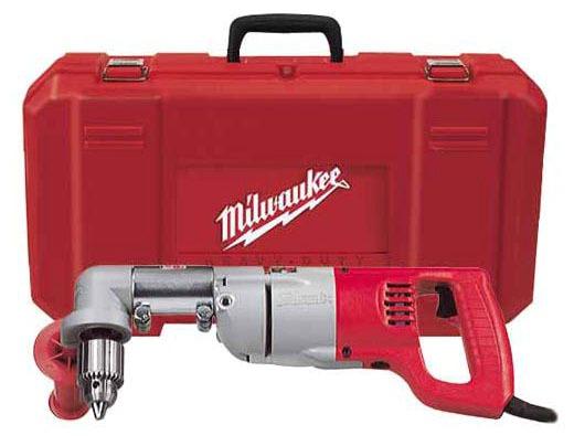 """1/2"""" Corded Drill Kit - 600/900 RPM, 120 VAC"""
