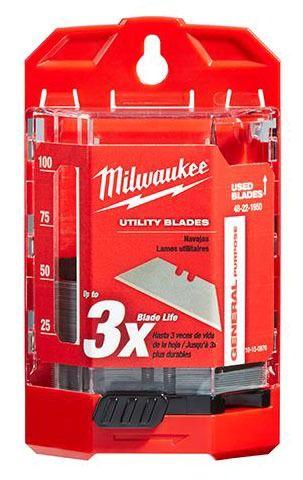 Utility Knife Blade - Milwaukee, Micro Carbide Dispersed Metal