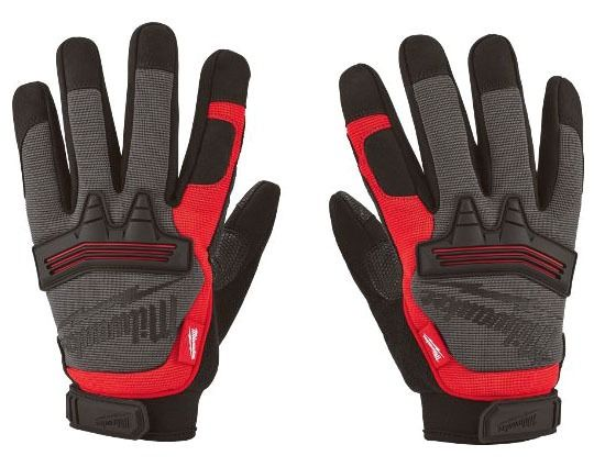 Reinforced Demolition Hand Gloves, Terry Cloth