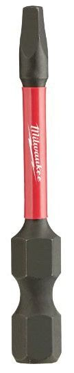 #1 Impact Square Recess Power Bit - SHOCKWAVE, Alloy Steel
