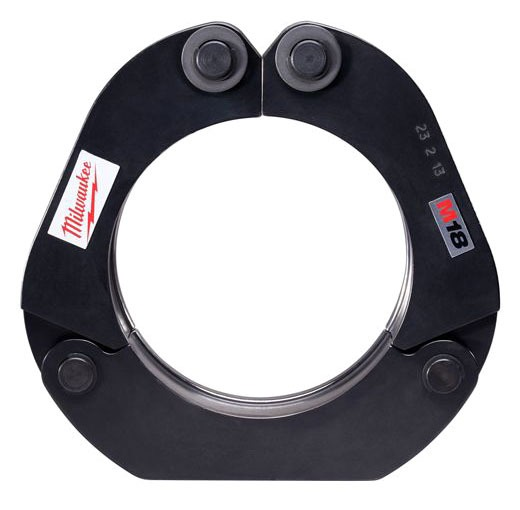 "2-Hinge Standard Press Tool Ring - M18 / Force Logic, 4"", Steel"