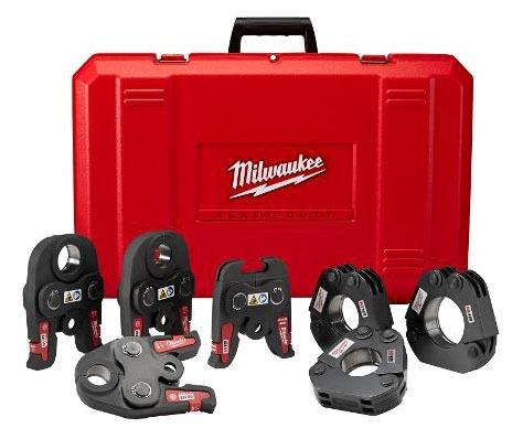 "Press Tool Kit - M18, 1/2"" to 2"", Black Iron"