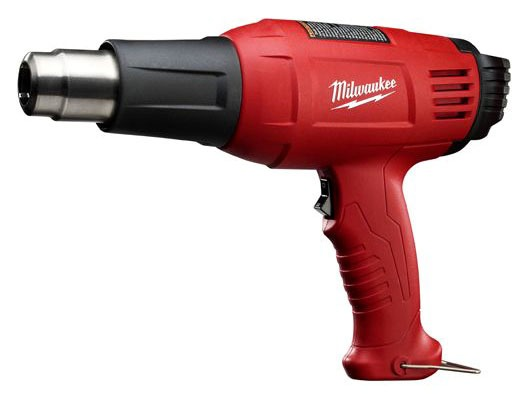 Dual Temperature Heat Gun - 570 and 1000 Deg F, Corded, 120 V