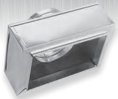 "8"" x 4"" x 4"" Sheet Metal Register Box"