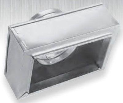 """12"""" x 8"""" x 8"""" Sheet Metal Register Box"""