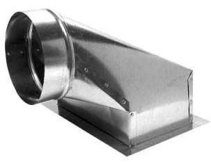 """10 X 6 X 6"""" Duct Ceiling Outlet Box, Sheet Metal"""