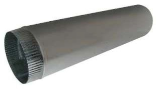 "3"" x 10' Sheet Metal Conductor Pipe"