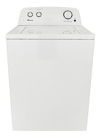 "27-1/2"" Washing Machine - White, Top Load, 3.5 Cu Ft"