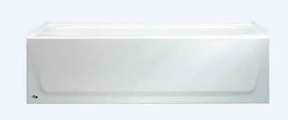 "60"" x 30"" x 14-1/4"" Freestanding Bathtub - ALOHA, White"