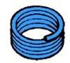 "1/2"" x 100' Cross-Linked Polyethylene Pipe - Superpex, Blue"