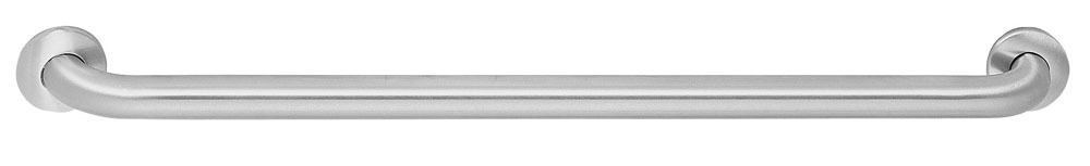 "1-1/2 X 48"" Heavy Duty Straight Grab Bar, Stainless Steel"