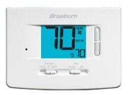 "Thermostat - Economy, 3"" SQ Display, 24 VAC, 3 A"
