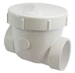 "4"" PVC Backwater Valve - Socket"