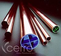 """2-1/2"""" X 20' Cleaned & Capped Soft/Hard Copper Tubing - 2-5/8"""" OD"""