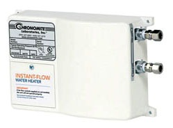 Tankless Water Heater, Electric - Instant-Flow, Commercial, Residential, 0.35 GPM Max Flow Rate