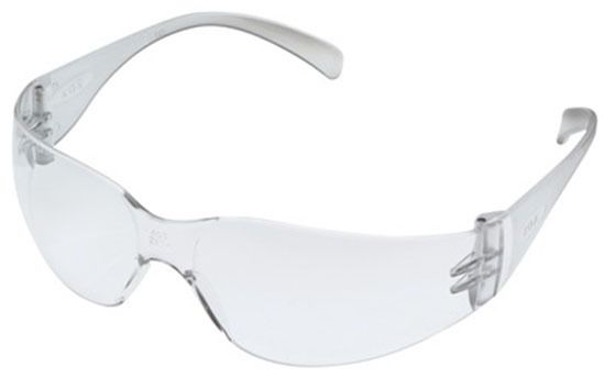 Safety Glasses, Clear Frame