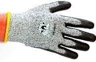 Large Black Gloves - Black Mamba, Polyethylene Fiber