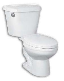 Side Mount Elongated Toilet Bowl - Cranada, Galaxy, Bone, 1.6 Gpf / 6.0 Lpf