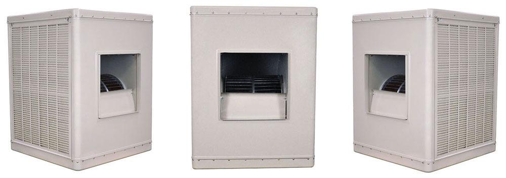 5 HP Evaporative Cooler - Champion, 460 V, Down Discharge, 1-Piece