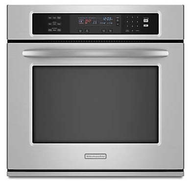 """30"""" Single Built-In Microwave Oven, Stainless Steel Exterior"""