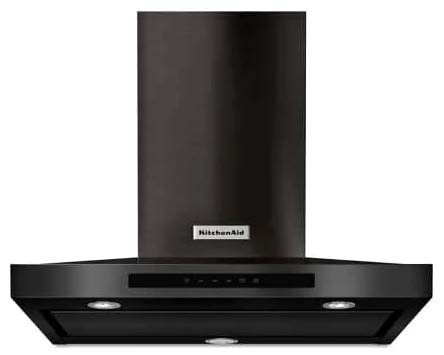 """30"""" Wall Mount Canopy Hood - Black Stainless, 15 A, 400 CFM"""
