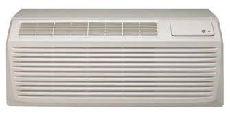 9700 BTU 12.8 EER Packaged Terminal Air Conditioner - 265 VAC, Digital Control