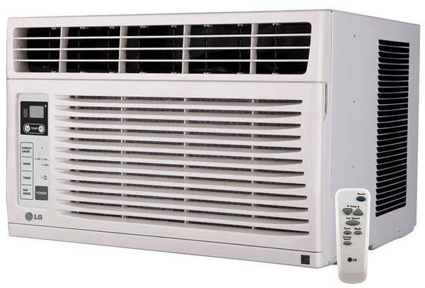 2-Way Window Air Conditioner, White
