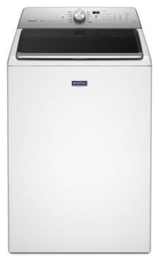 "27"" Washing Machine - White, Top Load, 5.3 Cu Ft"