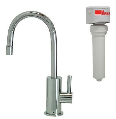 Cold Water Dispenser Faucet, PVD Brushed Nickel